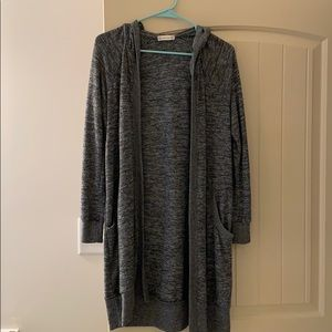 Long Grey Cardigan from Alter'd State